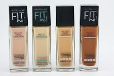Maybelline New York Fit Me Dewy + Smooth Foundation 1oz SPF 18 - CHOOSE COLOR