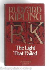 THE LIGHT THAT FAILED by Rudyard Kipling (1981) - HARDBACK - Centenary Edition