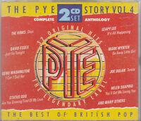 The Pye Story Vol 4 Best of British Pop 2CD Status Quo Kinks David Essex