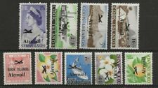 COOK ISLANDS SC# C1-9 MH STAMPS