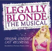 ORIGINAL LONDON CAST - LEGALLY BLONDE  THE MUSICAL [CD]