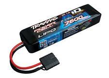 Traxxas 7600mAh 7.4v 2S 25C LiPo Battery iD Plug 2869X TRA2869X