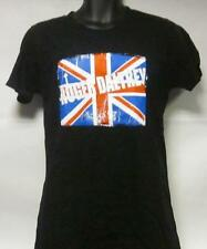 Roger Daltrey The Who(T Shirt)British Flag Black-Ladies-XL-New