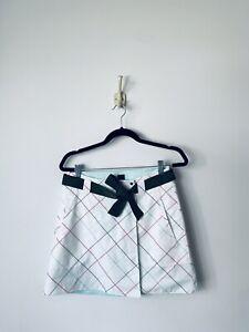NEW Womens Nike Dri-FIT 2 Wrap Golf Skirt 452853 Convertible