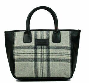 Mala Leather British Tweed Grab Handbag Various Colours RRP £89.00