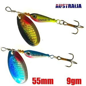 Fishing Lures Spinnerbaits Tackle Metal Bream Bass Flathead Perch Cod Trout Lure