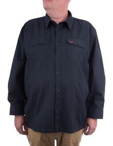 Maracheno Twill Shirt, Blue, XXL-8XL
