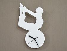Gymnastics Silhouette - Wall Clock