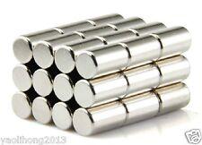 50pcs 5 X 10mm Neodymium Disc Super Strong Rare Earth N50 Small Fridge Magnets