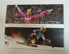 United States Olympic Committee Olympic Values in Action Calendar- 2013-14 - New