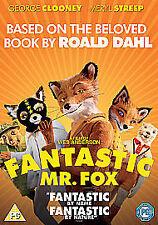The Fantastic Mr Fox DVD New & Sealed