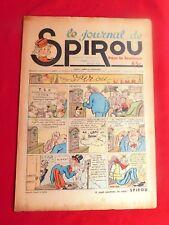 SPIROU n°11 du 30  juin 1938. Numéro non sorti de relire en très bel état