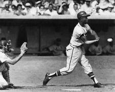 1959 Milwaukee Braves HANK AARON vs Larry Jackson Glossy 8x10 Photo Print Poster