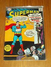 SUPERMAN #185 VG+ (4.5) DC COMICS APRIL 1966