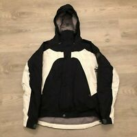 Nike ACG 3 Outer Layer Storm Fit Womens Hooded Black Zip Jacket Size Small