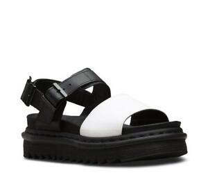 Dr Martens Slip On Sandale Voss Hydro Black & White 24628009 Doc