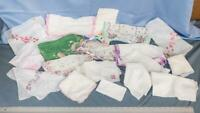 Vintage Lot of 19 Womens Handkerchief dq