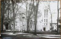 Oak Park, IL 1920s Realphoto Postcard: First Avenue Church - Illinois Ill
