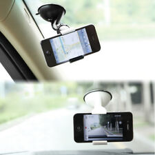 Windshield Car White Mobile Cell Phone MP4 GPS Mount Stand Holder Pad Cradle Mat