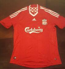 Adidas 2007-08 Liverpool Home Jersey Fernando Torres. Red. Medium. Please Read