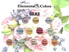 1 oz Pastel Silks Cosmetic Grade Natural Mica Powder Pigment Soap Candle Colors