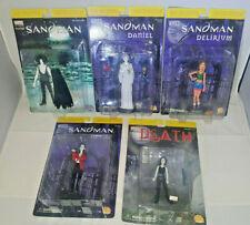 The Sandman DC Direct Action Figure Lot of 5 Death Delirium Daniel Desire RARE