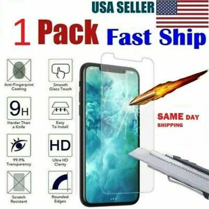 1-Pack iPhone 6 / 7 / 8 Plus Tempered GLASS Screen 6 6S 7 7P 8 8P 6P 11 X XS MAX