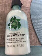 THE BODY SHOP Fuji Green Tea Replenishing Gel Body Lotion Size 8.4 fl oz New