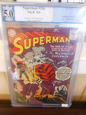 Superman #116 graded