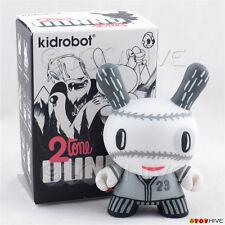 Kidrobot Dunny 2010 2tone vinyl figure by Aaron Meshon baseball pretzel w/ box