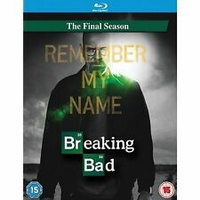 Breaking Bad - The Final Season (Blu-ray 2013, 2-Discs+ UV) New, with slip cover