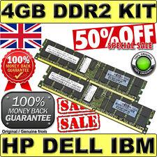Kit De 4gb 2rx4 Pc2-5300p Ecc Reg Ddr2 Hp P/n 405476-051 Kingston Kth-xw9400k2 / 4g