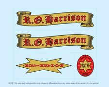 R.O.Harrison Bicycle Decals-Transfers-Stickers #1