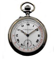 Antique Vacheron & Constantin Doctors & Pilots Chronograph Sterling Pocket Watch