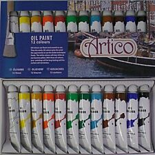 Artists Oil Paints Painting Set Painters Colours Tubes Pictures Oils Kit Present