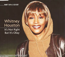 WHITNEY HOUSTON - It's Not Right But It's Okay (UK 3 Tk CD Single Pt 1)