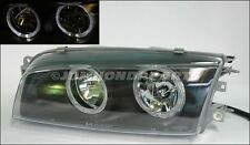 95-01 Mitsubishi Lancer Evo 4 5 6 Black Halo Headlights
