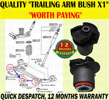 FOR TOYOTA AVENSIS VERSO 2001-2005 TRAILING ARM BUSH FOR REAR AXLE SUBFRAM X1