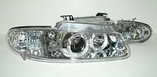 Plymouth Voyager 1996-00 HeadLights LED Projector CHROM