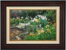 """Thomas Kinkade """"ETERNAL SPRINGTIME"""" 18X27 G/P LE Framed Canvas"""