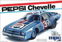 MPC 808 1975 Chevy Chevelle Laguna Pepsi NASCAR #39 1/25 Model Car Mountain Fs