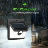 40LED Waterproof Solar Power PIR Motion Sensor Wall Garden Light Outdoor