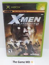 X-Men Legends II: Rise of Apocalypse (Microsoft Xbox, 2005) NTSC