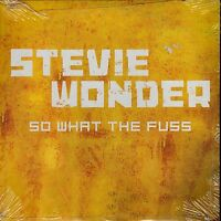 STEVIE WONDER SO WHAT THE FUSS CD SINGLE SPANISH PROMO CARPETA CARTON