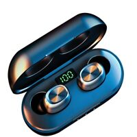 Mini TWS Senza Fili Bluetooth 5.0 Cuffie In-Ear Sportivi 3D Stereo Auricolari