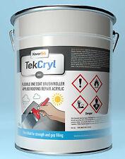 20KG BLACK TekCryl UV Roof Repair fix Acrylic  acrypol cromapol quick fix