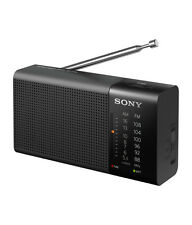 NEW Sony ICF-P36 Radio Portable Battery Operated 100mW Integrated AM/FM Tuner