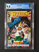 Marvel Comics Presents #62 CGC 9.8 (1992) - Silver Fox & Sabretooth app