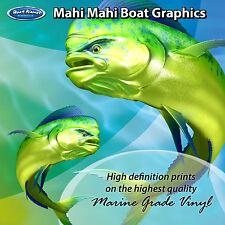 Mahi Mahi Graphics - set of 260mm Boat Graphics