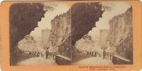Suisse Grigioni Foto J.Andrieu Stereo Vintage Albumina Ca 1868